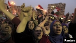 Египет, Каир, площадь Тахрир, 27 ноября 2012г.