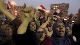 Prizor sa jučerašnjih demonstracija u Kairu protiv egipatskog predsednika Mohameda Morsija