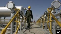 伊朗的一個石油設施