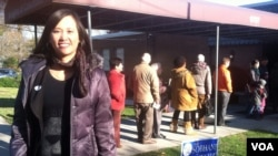 Katrina Dizon a voté pour la première fois