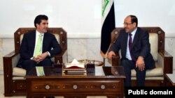 Nêçîrvan Barzanî û Nûrî El Malikî.