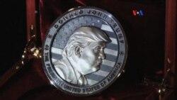 Rusos crean moneda conmemorativa a Trump