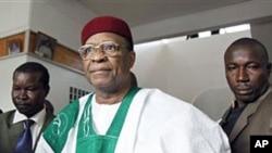 L'ancien président nigérien Mamadou Tandja (Archives)