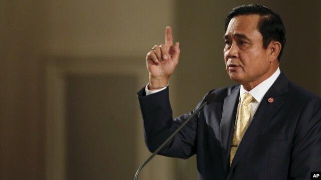 ထိုင္း၀န္ႀကီးခ်ဳပ္ Prayuth Chan-ocha