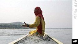 FILE - Civic groups press to end Hydropower Development on Lower Mekong River.