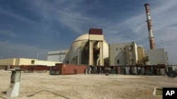 FILE - The reactor building of the Bushehr nuclear power plant just outside the southern city of Bushehr, Iran