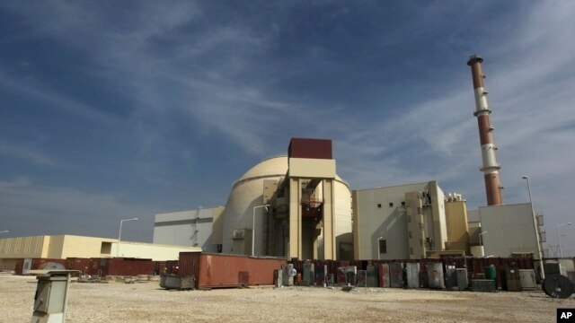 FILE - The reactor building of the Bushehr nuclear power plant just outside the southern city of Bushehr.