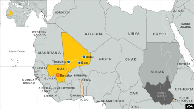 Kidal, Mali, Africa