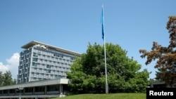 Dünya Sağlık Örgütü'nün İsviçre'nin Cenevre kentindeki genel merkezi