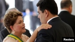 Maduro conversó con Rousseff por teléfono este miércoles en la mañana.