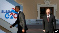 Prezida wa Amerika, Barack Obama, ahejeje kuramutsa prezida w'Uburusiya, Vladimir Putin