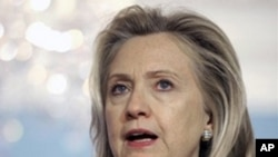 U.S. Secretary of State Hillary Clinton (file photo).