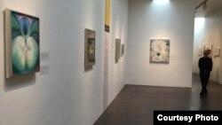 Bảo tàng nghệ thuật trưng bày tranh của Georgia O'Keeffe (ảnh Bùi Văn Phú)
