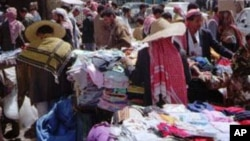 Commerce goes on as it has has for centuries in Sana'a, capital of Yemen, despite the political upheavals of the Arab spring.