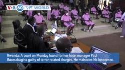 VOA60 World- A Rwandan court on Monday found former hotel manager Paul Rusesabagina guilty of terror-related charges