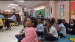 В американській школі випробовують новий метод виховання бешкетників – медитацію. Відео