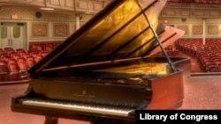 Un piano au Carnegie Music Hall