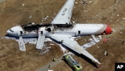 Chuyến bay 214 của hãng hàng không Asiana bị nạn tại phi trường quốc tế San Francisco