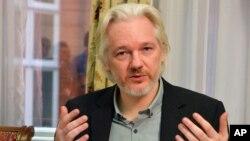 Ông Julian Assange, sáng lập viên Wikileaks.