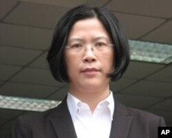 台湾法轮大法学会朱婉琪律师,常务理事