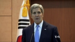 Kerry: US, Allies 'Not Even Close' to Resuming N. Korea Talks