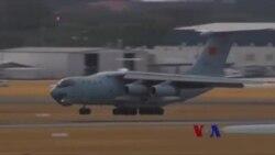 中国远洋搜索失踪客机展示海军实力