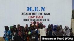 Reportage de Boubarcar Touré, correspondant à Gao pour VOA Afrique