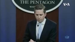 五角大楼发言人霍夫曼Jonathan Hoffman2020年4月24日说假如美军不去南中国海中国会更嚣张(美国国防部)