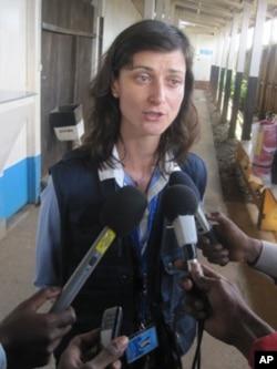 Maria Nedelcheva, chef de la mission d'observation de l'Union européenne