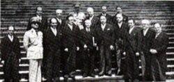 محمد علی فروغی و اعضای کابینه دولت او