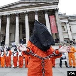 Prosvjednici zahtijevaju zatvaranje Guantanama