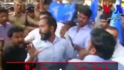 اعتراض و جنجال بعد از ورود دو زن به معبد هندوها