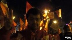 左翼陣線成員吉尼斯關注中國人權
