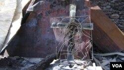 საეპისკოპოსო სახლი ნიქოზში, 2008 წელი ნინო დალაქიშვილის ფოტო
