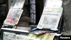 La Ley de Comunicación promulgada por el presidente Rafael Correa ha sido calificada de restrictiva de la libertad de prensa.