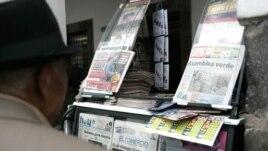 SIP considera preocupante situación de los medios de comunicación en el país andino.