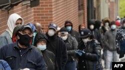 Građani stoje u redu za testiranje u New Yorku