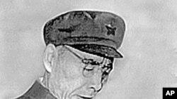 曾被定为毛泽东接班人的林彪在文革中讲话