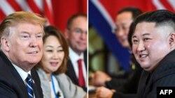 Дональд Трамп и Ким Чен Ын, Ханой, Вьетнам, 28 февраля 2019 года