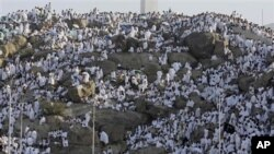 Alhazai a kan Dutsen Arafat