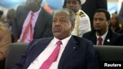 Prezida wa Djibuti Ismail Omar Guelleh