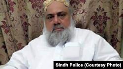 ارشاد رانجھانی کا مبینہ قاتل یونین کونسل چیئرمین رحیم شاہ۔ فائل فوٹو