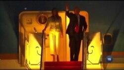 """Трамп повернувся зі свого першого іноземного турне. Що ж чекає на нього """"вдома""""? Відео"""