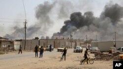عکس تزئینی، انفجار در بغداد