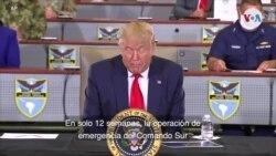Trump SOT comando sur 120 toneladas