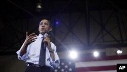 اوباما: کانگرس باید با حکومت بحران مالی را حل سازد