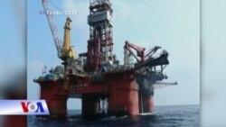 Giàn khoan Hải Dương 981 hoạt động gần Vịnh Bắc Bộ