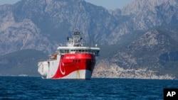 Türkiye Oruç Reis gemisini bakım için bölgeden geri çekti