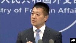 중국 외교부 루캉 대변인.