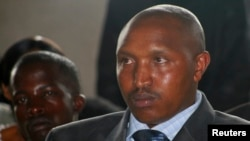 FILE - Fugitive Congolese warlord Bosco Ntaganda attends rebel commander Sultani Makenga's wedding in Goma, December 27, 2009.